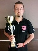 Piotr Ryglowski - zwyci�zca Poland Bowling Tour 2014/2015