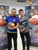 Tomasz Czerw i Adrian Schramka, zwycięzcy PBT #1 2016/2017 Słupsk